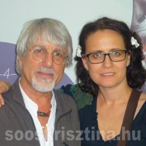 Guido Daniele, világhíres testfestővel - Soós Krisztina