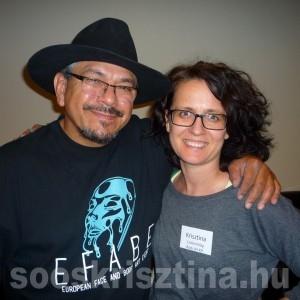 Mark Reid, világhíres testfestővel - Soós Krisztina